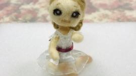 羊毛フェルト バレエ プレゼント くるみ割り人形
