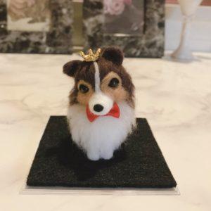 シェルティ 犬 羊毛フェルト